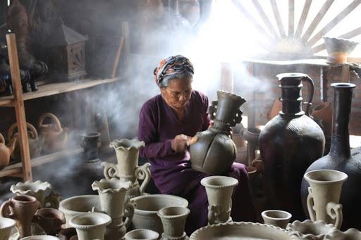 Cải thiện chất lượng gốm Bàu Trúc