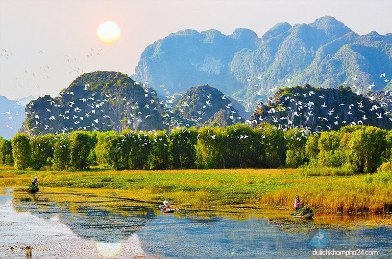 Đầm Vân Long Ninh Bình – điểm du lịch sinh thái không thể bỏ qua