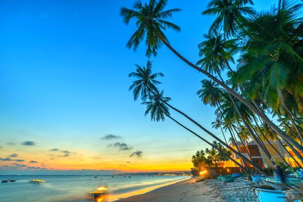 Ghé bãi biển Hòn Rơm Mũi Né cảm nhận sự khoáng đạt của thiên nhiên mênh mông
