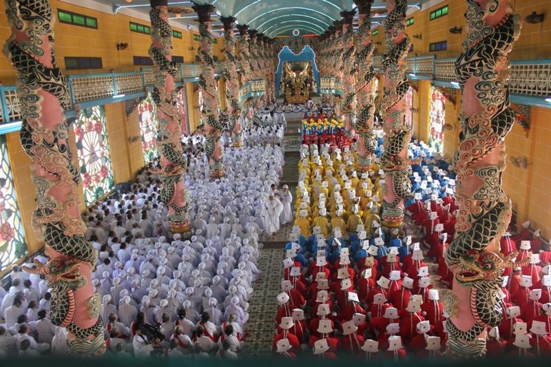 90 năm đền thánh Tây Ninh - Báo Tây Ninh Online